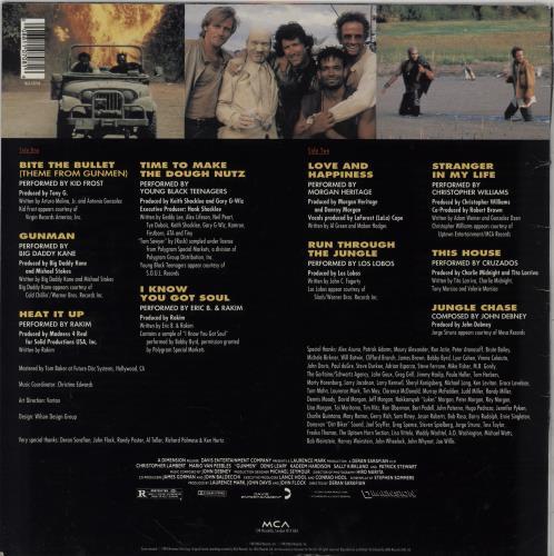 Original Soundtrack Gunmen vinyl LP album (LP record) UK OSTLPGU754693