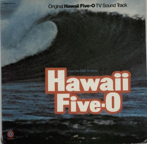 Original Soundtrack Hawaii Five-O vinyl LP album (LP record) US OSTLPHA587391