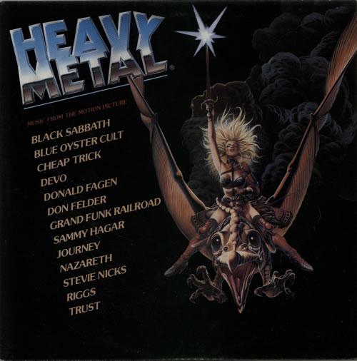 Original Soundtrack Heavy Metal 2-LP vinyl record set (Double Album) UK OST2LHE586746