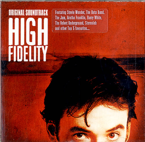 Original Soundtrack High Fidelity CD album (CDLP) German OSTCDHI620985