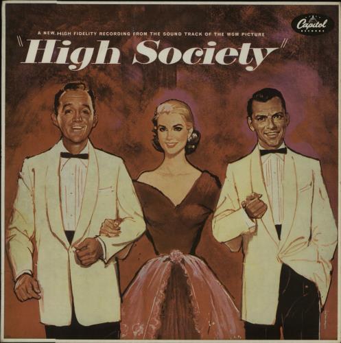 Original Soundtrack High Society - 1st - EX vinyl LP album (LP record) UK OSTLPHI667747
