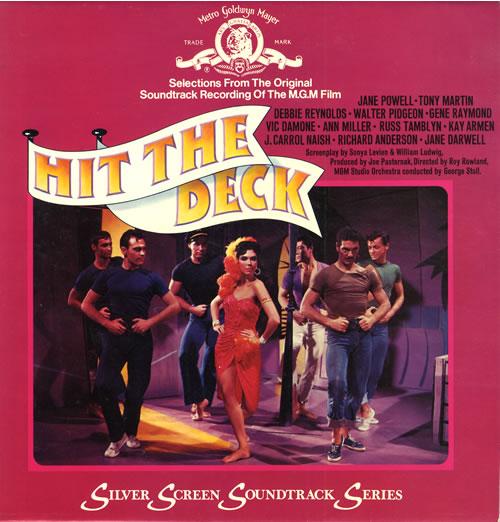 Original Soundtrack Hit The Deck vinyl LP album (LP record) UK OSTLPHI563665