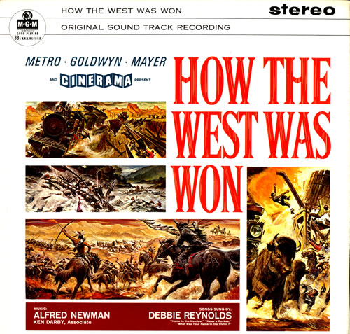 Original Soundtrack How The West Was Won Uk Vinyl Lp Album