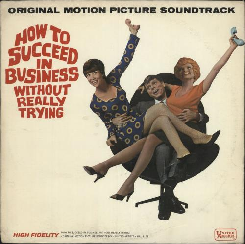 Original Soundtrack How To Succeed In Business Without Really Trying - Mono vinyl LP album (LP record) US OSTLPHO476856