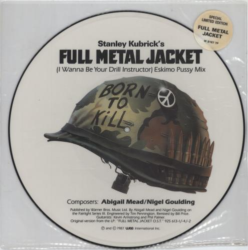 "Original Soundtrack I Wanna Be Your Drill Instructor - Stickered sleeve 12"" vinyl picture disc 12inch picture disc record UK OST2PIW624255"