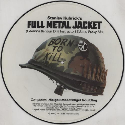 "Original Soundtrack I Wanna Be Your Drill Instructor 12"" vinyl picture disc 12inch picture disc record UK OST2PIW755167"