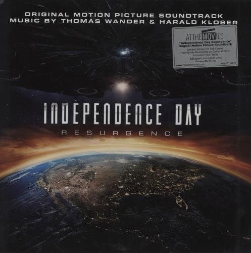Original Soundtrack Independence Day - Resurgence - Orange Vinyl vinyl LP album (LP record) UK OSTLPIN754593