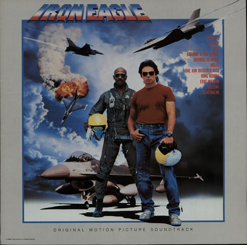 Original Soundtrack Iron Eagle vinyl LP album (LP record) UK OSTLPIR577240