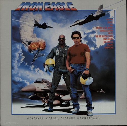 Original Soundtrack Iron Eagle vinyl LP album (LP record) UK OSTLPIR577240