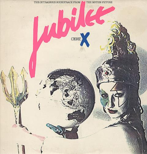Original Soundtrack Jubilee - Cert X vinyl LP album (LP record) UK OSTLPJU325585