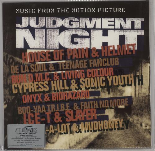 Original Soundtrack Judgment Night - 180gm vinyl LP album (LP record) UK OSTLPJU754695