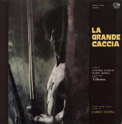 Original Soundtrack La Grande Caccia vinyl LP album (LP record) Italian OSTLPLA769081