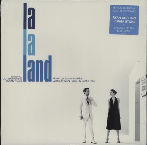 Original Soundtrack La La Land - Blue Vinyl - Sealed vinyl LP album (LP record) US OSTLPLA751855