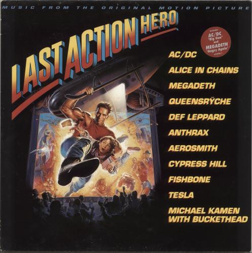 Original Soundtrack Last Action Hero vinyl LP album (LP record) Dutch OSTLPLA718739