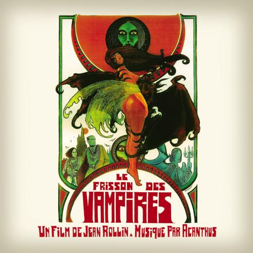Original Soundtrack Le Frisson Des Vampires - Red Vinyl vinyl LP album (LP record) UK OSTLPLE755109