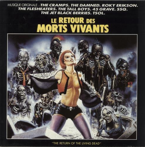 Original Soundtrack Le Retour Des Morts Vivants (The Return Of The Living Dead) vinyl LP album (LP record) French OSTLPLE713006