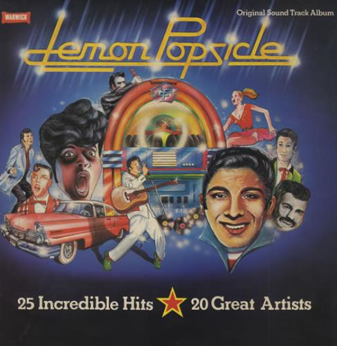Original Soundtrack Lemon Popsicle vinyl LP album (LP record) UK OSTLPLE423852