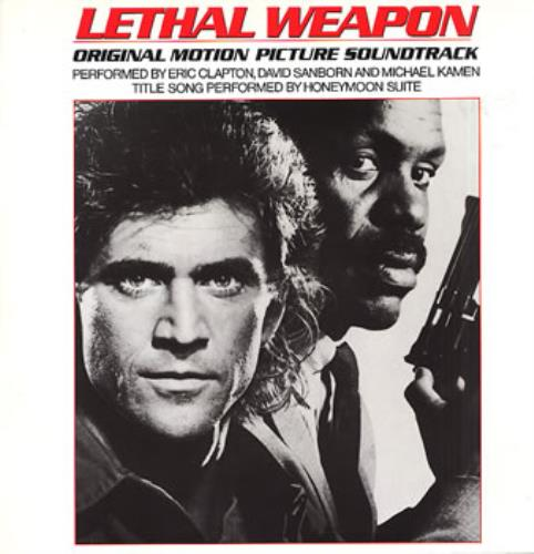 Original Soundtrack Lethal Weapon vinyl LP album (LP record) German OSTLPLE316105