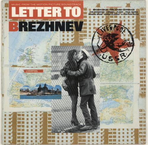 Original Soundtrack Letter To Brezhnev vinyl LP album (LP record) UK OSTLPLE565217