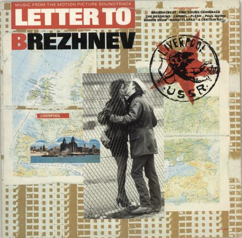Original Soundtrack Letter To Brezhnev vinyl LP album (LP record) US OSTLPLE714402