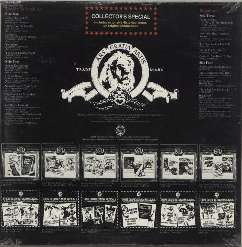 Original Soundtrack Lovely To Look At / Brigadoon - Sealed 2-LP vinyl record set (Double Album) US OST2LLO698575