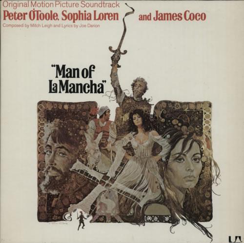 Original Soundtrack Man Of La Mancha vinyl LP album (LP record) UK OSTLPMA587372