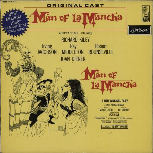 Original Soundtrack Man Of La Mancha vinyl LP album (LP record) US OSTLPMA759782