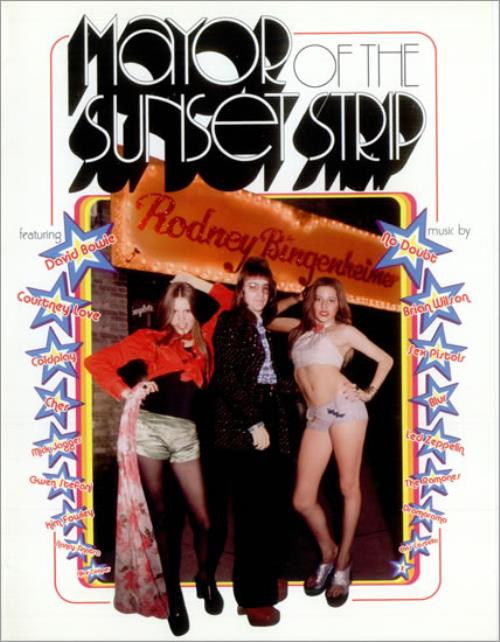 Original Soundtrack Mayor Of The Sunset Strip media press pack US OSTPPMA528182