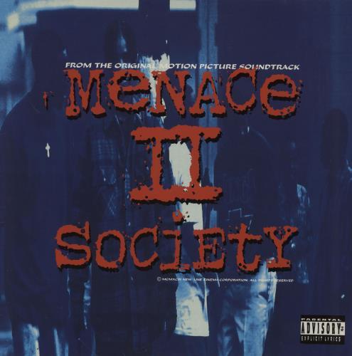 Original Soundtrack Menace II Society - EX 2-LP vinyl record set (Double Album) UK OST2LME758536