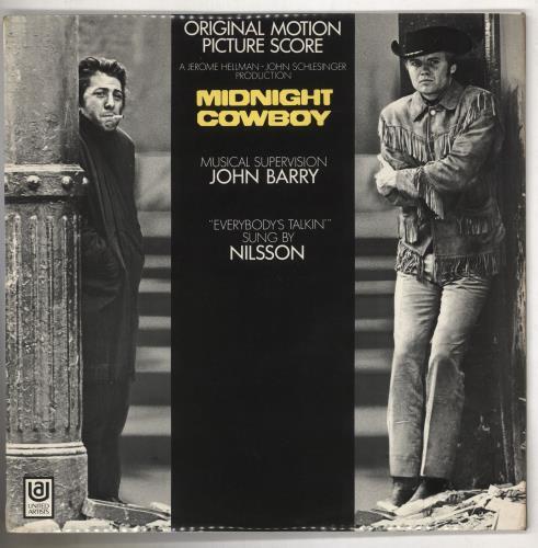 Original Soundtrack Midnight Cowboy - EX vinyl LP album (LP record) UK OSTLPMI656278