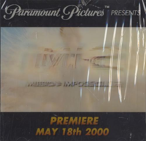 Original Soundtrack Mission Impossible 2 CD album (CDLP) US OSTCDMI213506