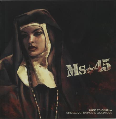 Original Soundtrack Ms.45 - Black/White Vinyl vinyl LP album (LP record) UK OSTLPMS647960