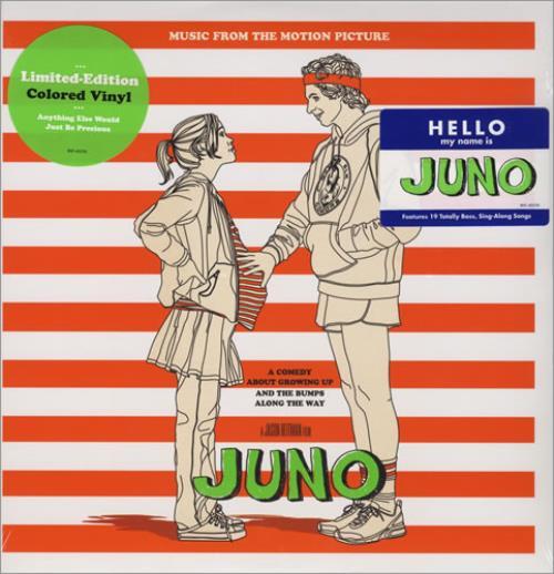 Original Soundtrack Music From The Motion Picture Juno vinyl LP album (LP record) US OSTLPMU432263