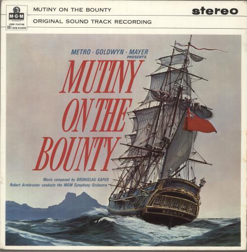 Original Soundtrack Mutiny On The Bounty vinyl LP album (LP record) UK OSTLPMU749899