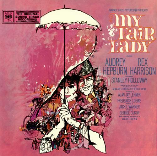Original Soundtrack My Fair Lady vinyl LP album (LP record) UK OSTLPMY476588