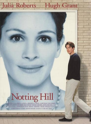 original soundtrack notting hill us promo media press pack 169296 press pack. Black Bedroom Furniture Sets. Home Design Ideas
