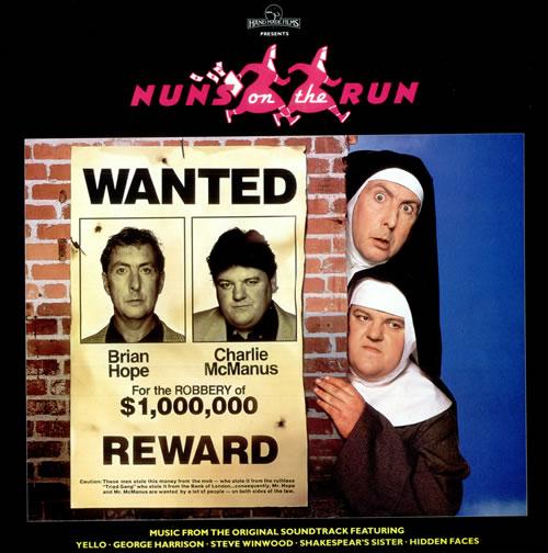 Original Soundtrack Nuns On The Run vinyl LP album (LP record) UK OSTLPNU212207