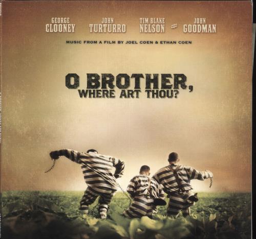 Original Soundtrack O Brother, Where Art Thou? - Clear Vinyl 2-LP vinyl record set (Double Album) US OST2LOB725883