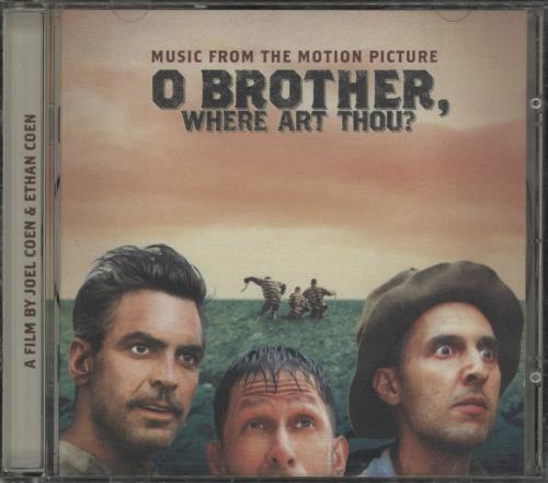 Original Soundtrack O Brother, Where Art Thou? CD album (CDLP) UK OSTCDOB751556