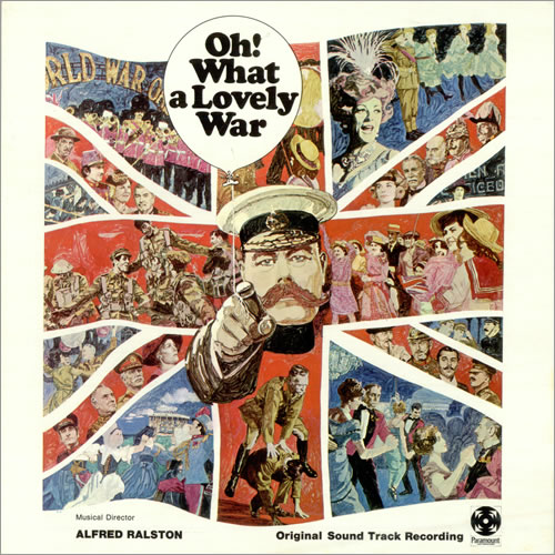 Original Soundtrack Oh! What A Lovely War vinyl LP album (LP record) UK OSTLPOH496677