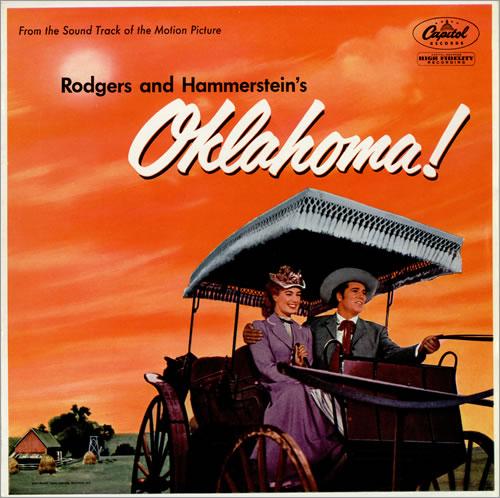 Original Soundtrack Oklahoma! - 1st vinyl LP album (LP record) UK OSTLPOK460917