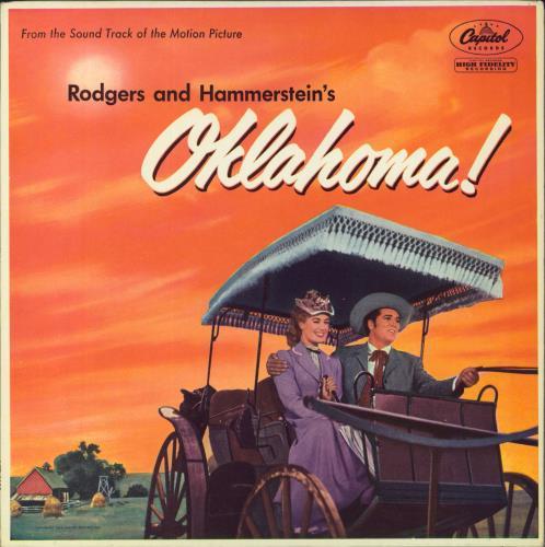 Original Soundtrack Oklahoma! - 3rd vinyl LP album (LP record) UK OSTLPOK544116