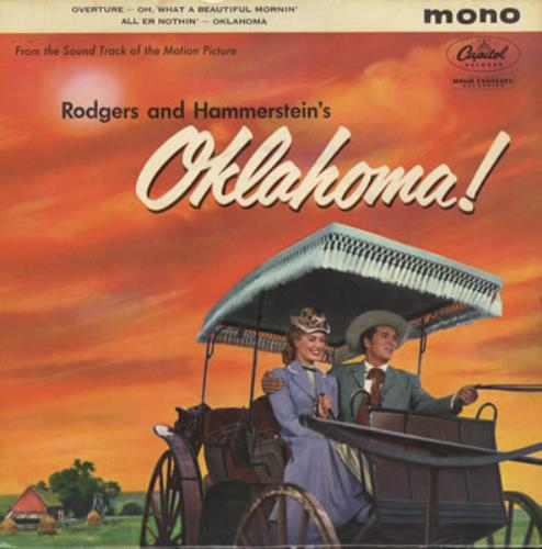 "Original Soundtrack Oklahoma! Part One 7"" vinyl single (7 inch record) UK OST07OK377174"