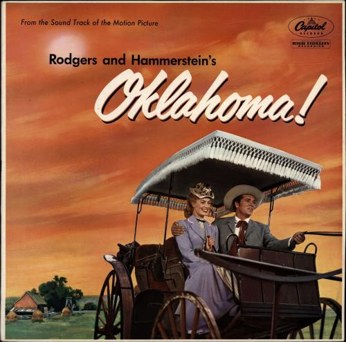 Original Soundtrack Oklahoma! vinyl LP album (LP record) UK OSTLPOK701844