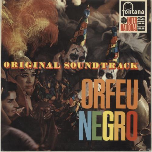 Original Soundtrack Orfeu Negro [Black Orpheus] UK vinyl LP album (LP  record)