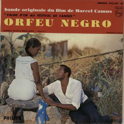 "Original Soundtrack Orfeu Negro 7"" vinyl single (7 inch record) French OST07OR641699"