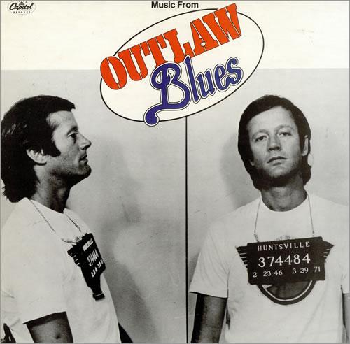 Original Soundtrack Outlaw Blues vinyl LP album (LP record) UK OSTLPOU474725