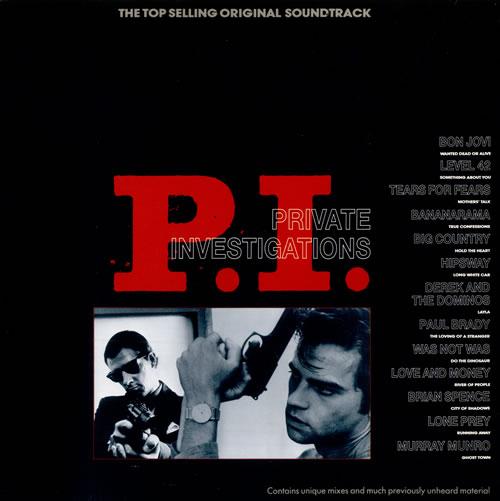 Original Soundtrack P.I. (Private Investigations) vinyl LP album (LP record) Dutch OSTLPPI509611
