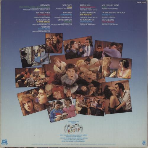 Original Soundtrack Party Party vinyl LP album (LP record) UK OSTLPPA586214