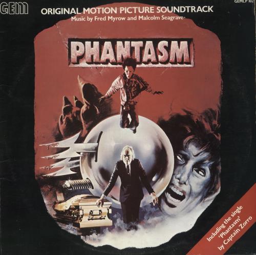 Original Soundtrack Phantasm vinyl LP album (LP record) UK OSTLPPH715101